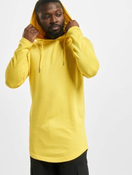 Urban Classics Hoody Long Shaped Terry gelb