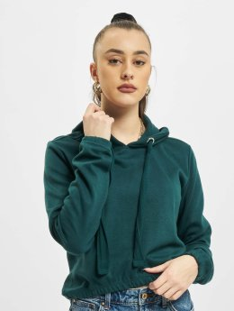 Urban Classics Hoody Interlock Short groen