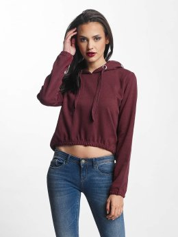 Urban Classics Hoody Interlock Short rot