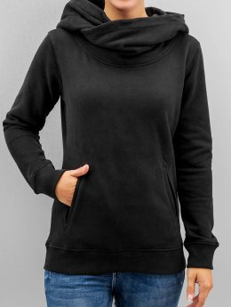 Urban Classics Hoody High Neck schwarz