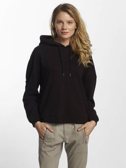 Urban Classics Hoody Laced Up zwart