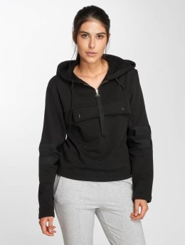 Urban Classics Hoody Peached Terry Troyer zwart