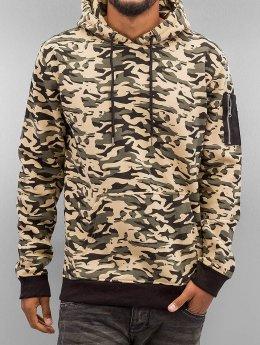 Urban Classics Hupparit Sweat Camo Bomber camouflage