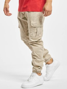 Urban Classics Jogging kalhoty Cargo Jogging béžový