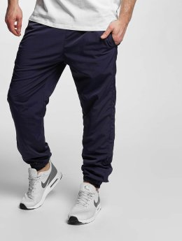 Urban Classics joggingbroek Nylon Training blauw