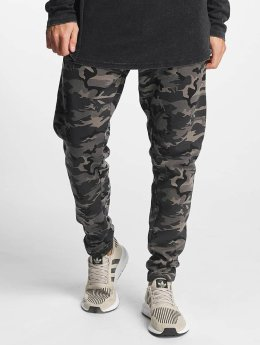 Urban Classics joggingbroek Interlock Camo camouflage