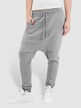 Urban Classics joggingbroek Light Fleece Sarouel grijs