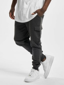 Urban Classics joggingbroek Fitted Cargo grijs