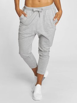 Urban Classics joggingbroek Open Edge Terry Turn Up grijs