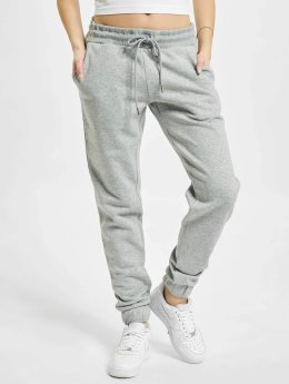 Urban Classics joggingbroek Shorty grijs
