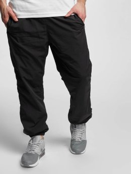 Urban Classics joggingbroek Nylon Training zwart