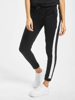 Urban Classics joggingbroek Interlock zwart