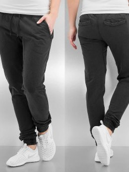 Urban Classics Jogginghose Ladies Acid Wash grau