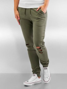 Urban Classics Jogginghose Cutted Terry olive