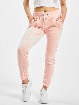 Urban Classics Jogginghose Velvet rosa