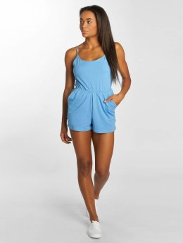 Urban Classics jumpsuit Natalia blauw