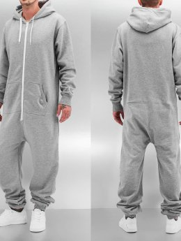 Urban Classics jumpsuit Sweat grijs