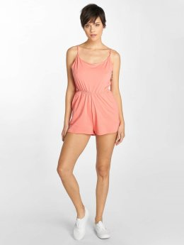 Urban Classics Jumpsuit Natalia Ladies Spaghetti Short orange