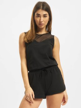 Urban Classics Frauen Jumpsuit Tech Hot in schwarz