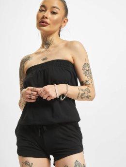 Urban Classics jumpsuit Ladies Hot zwart