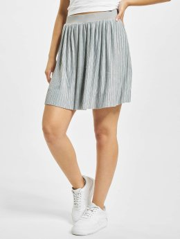 Urban Classics Jupe Jersey Pleated gris