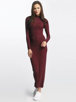 Urban Classics jurk Long Turtleneck rood