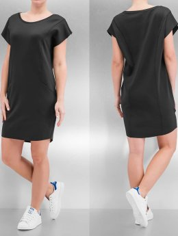Urban Classics jurk Ladies Scuba zwart