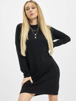 Urban Classics jurk Oversized Turtleneck zwart