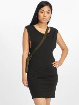 Urban Classics jurk Deep Armhole zwart