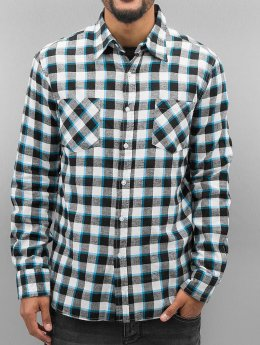 Urban Classics Kauluspaidat Tricolor Checked Light Flanell musta