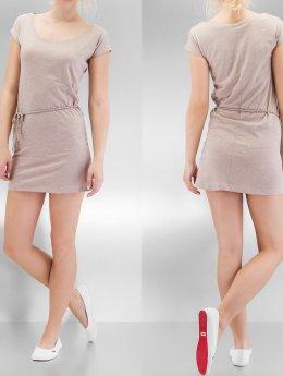 Urban Classics Kleid Slub Jersey beige