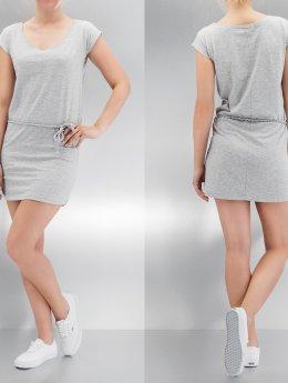 Urban Classics Kleid Slub Jersey grau