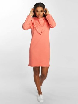 Urban Classics Frauen Kleid Terry in pink