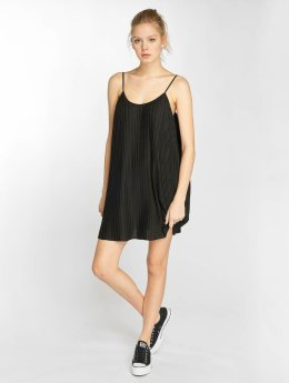 Urban Classics Kleid Jersey Pleated Slip schwarz