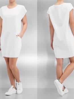 Urban Classics Kleid Ladies Scuba weiß