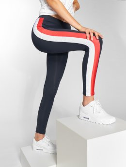 Urban Classics Legging Side Stripe blau