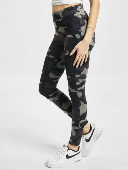 Urban Classics Frauen Legging Camo Tech Mesh in camouflage
