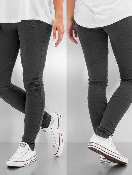 Urban Classics Legging Interlock High Waist grijs