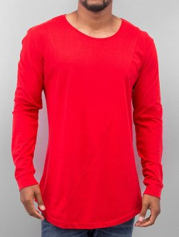 Urban Classics Longsleeve Long Shaped Fashion rot