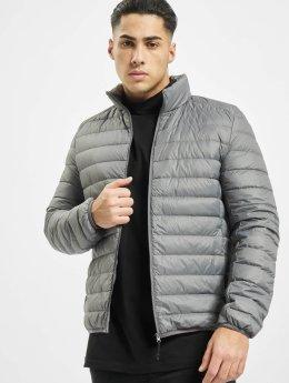 Urban Classics Manteau hiver Basic Down gris