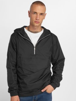 Urban Classics Overgangsjakker Pull Over sort