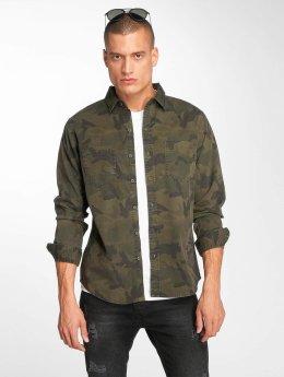 Urban Classics overhemd Camo camouflage