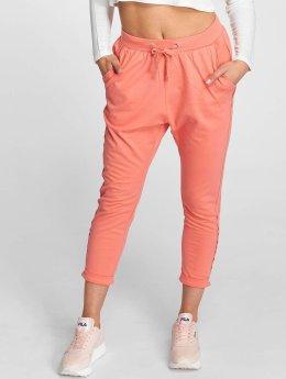 Urban Classics Pantalón deportivo Open Edge Terry Turn Up rosa