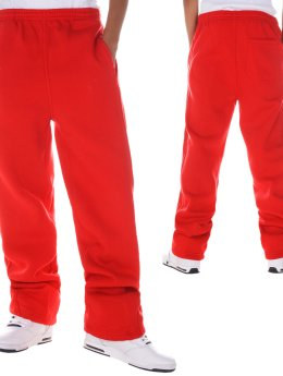 Urban Classics Pantalone ginnico Kids  rosso