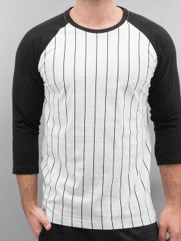Urban Classics Pitkähihaiset paidat Contrast valkoinen