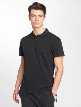 Urban Classics Polo Garment Dye Pique noir