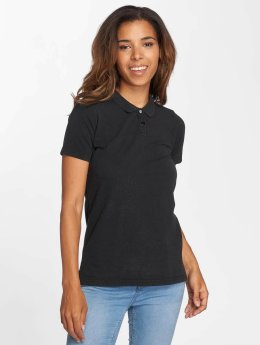 Urban Classics Poloshirt Wash  black