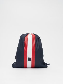 Urban Classics Pouch Striped  blue