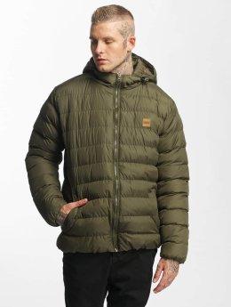 Urban Classics Puffer Jacket Basic Bubble olive