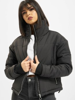 Urban Classics Puffer Jacket Oversized High Neck schwarz